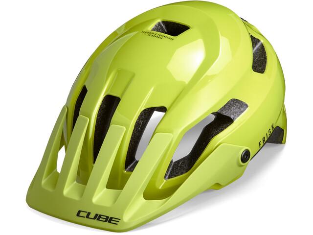 Cube Frisk Helmet lime